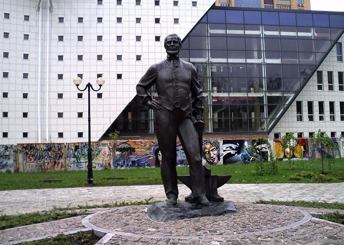 Памятник Джону Юзу