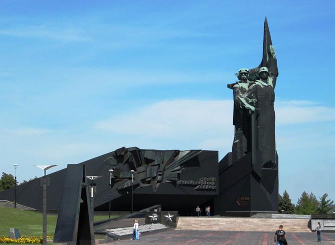 Монумент освободителям Донбасса