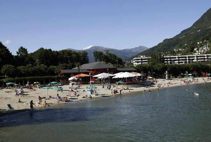 Пляж Лидо ди Лугано