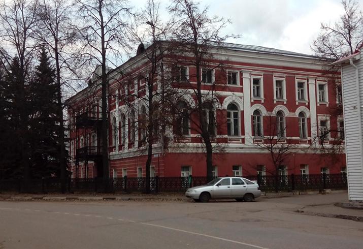 Дом фабриканта М. Ф. Щербакова