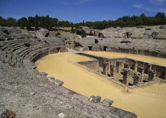Археологический ансамбль Италика