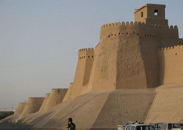 Город-крепость Хива