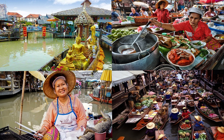 Рынок на воде