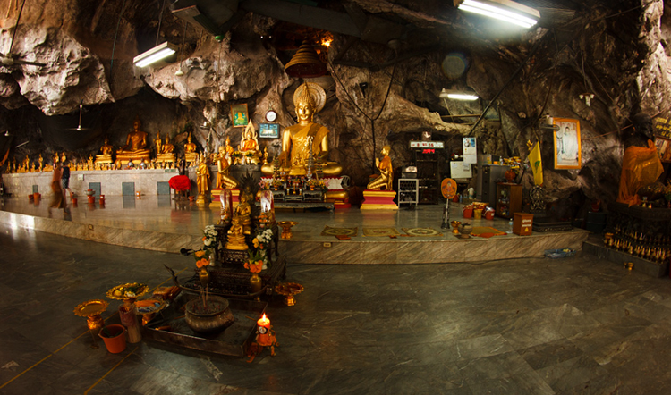 пещера тигра