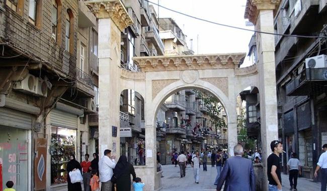 Средневековый христианский квартал