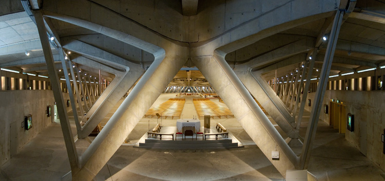 Подземная базилика святого Пия X