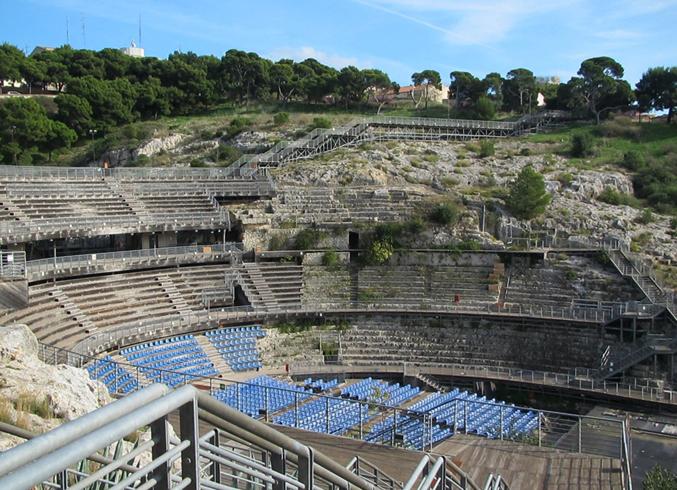 Римский амфитеатр в Кальяри