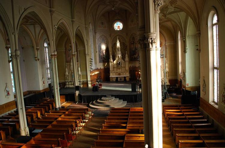 Внутри церкви Святой Бригиды