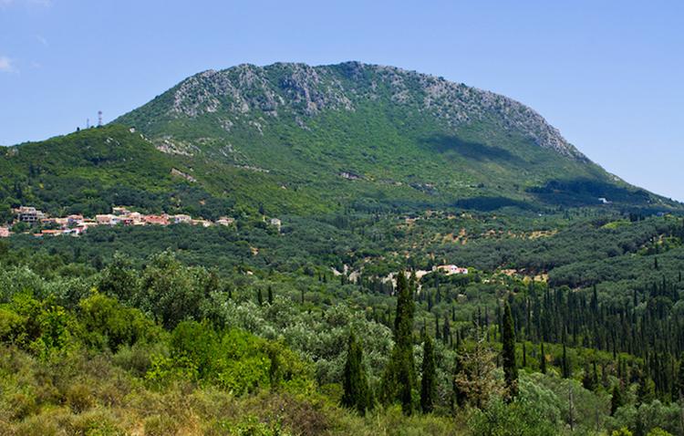 Гора Пантократор