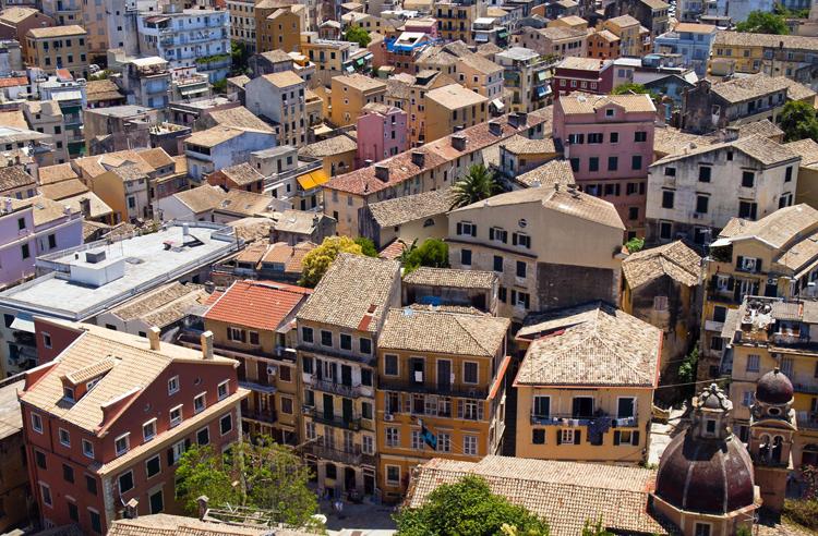 Старый город Керкира