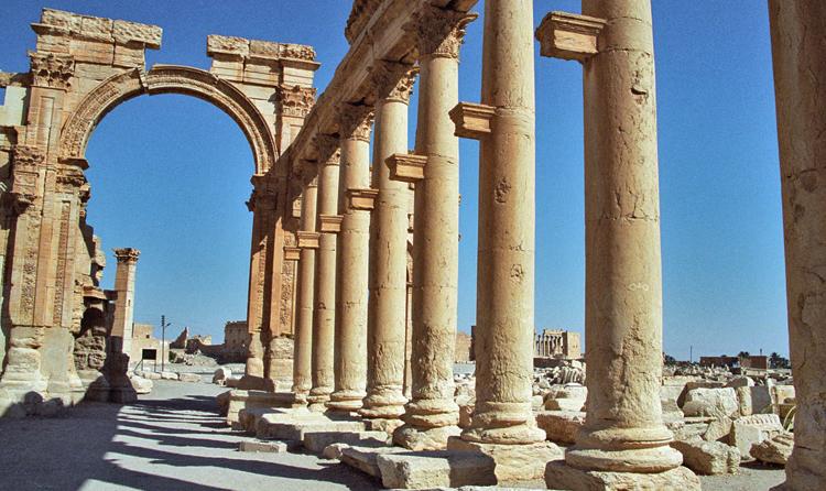 Триумфальная арка в Пальмире