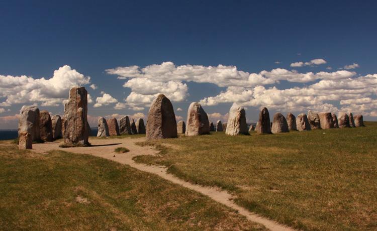 Памятник Алес-Стенар