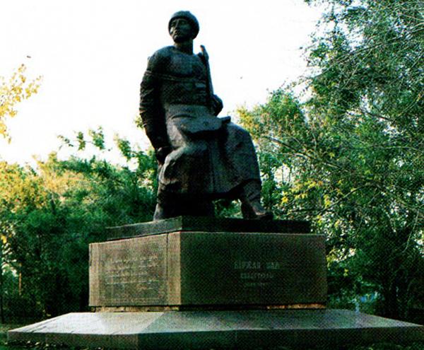 Памятник поэту Биржан-салу
