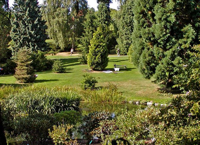 Ботанический сад Орхуса