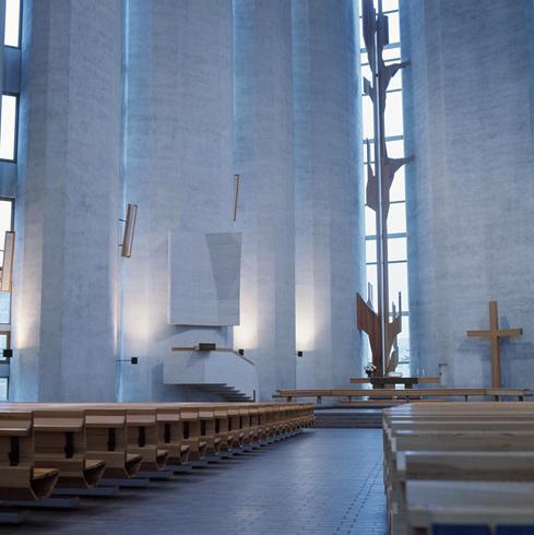 Внутри церкви Калева