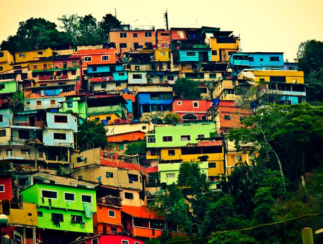 Разноцветные дома Эль-Атилло
