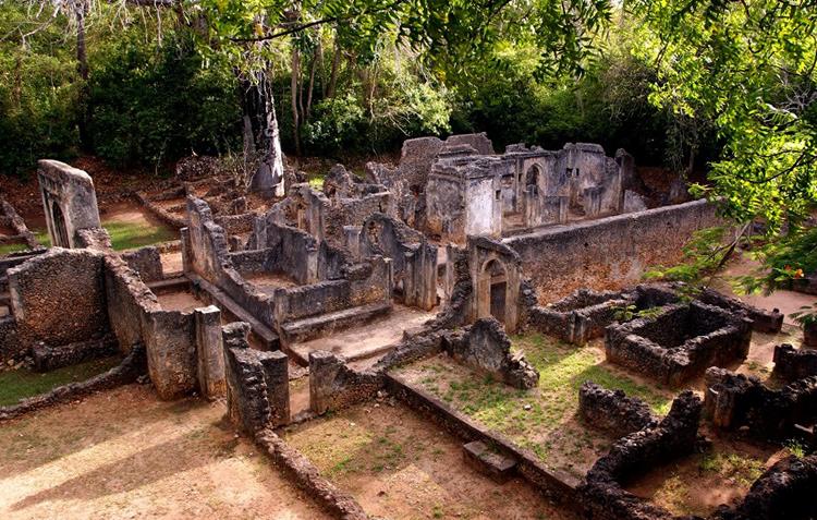 Руины Геди