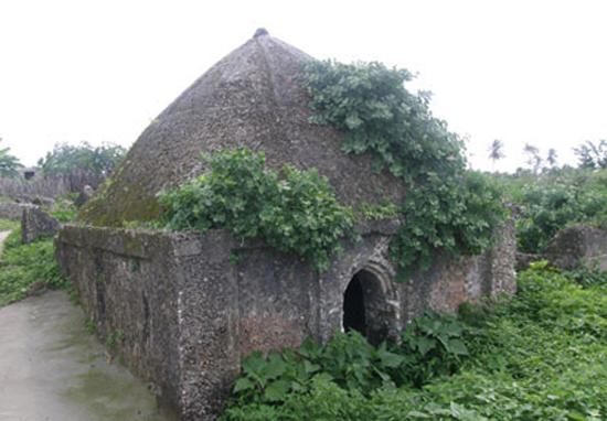 Деревня на острове Пате