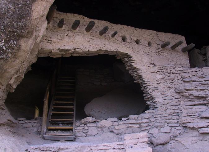 Скальные жилища в долине Хила