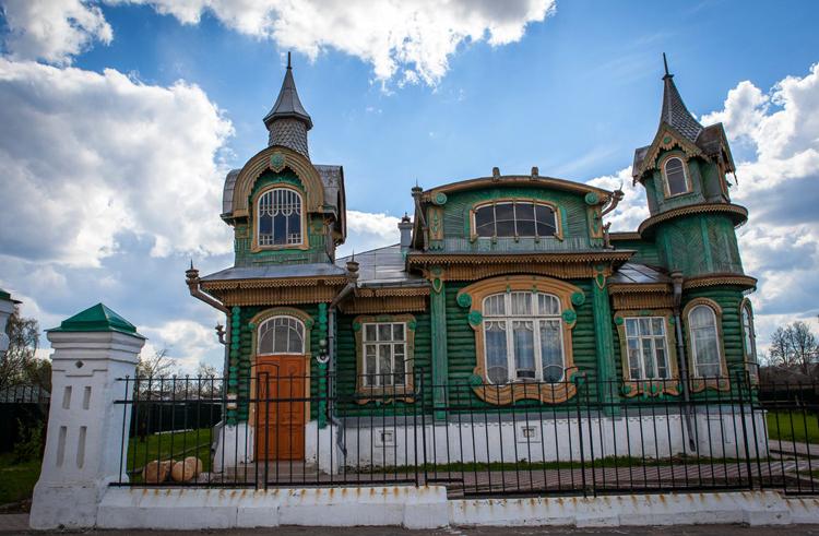 Дом царя Гороха
