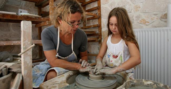 Мастерская керамики Ханны Ми