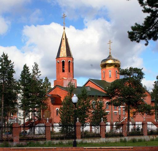 Православный храм Преображения Господня