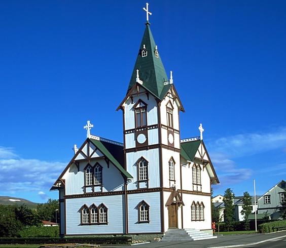 Церковь города Хусавик