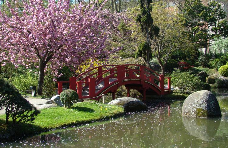 Японские сады Тулузы