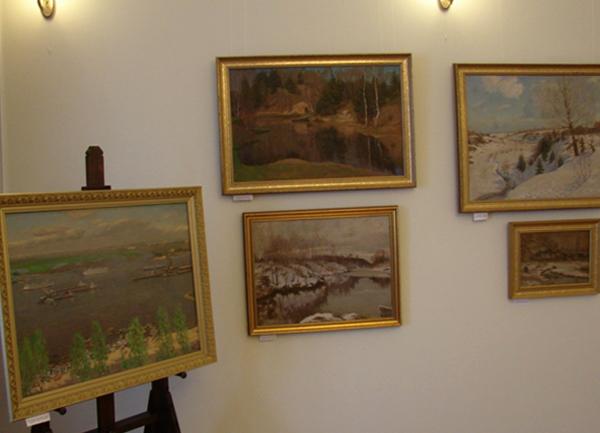 Выставочный зал А. М. Каманина