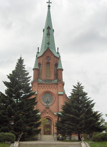 Церковь Алексантери