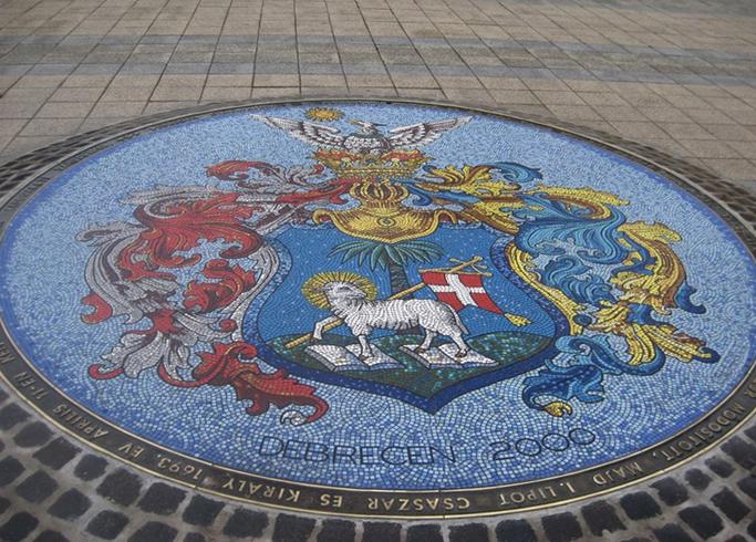Мозаичный герб