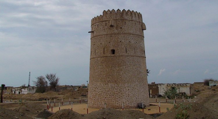 Сторожевые башни залива Аль-Хан