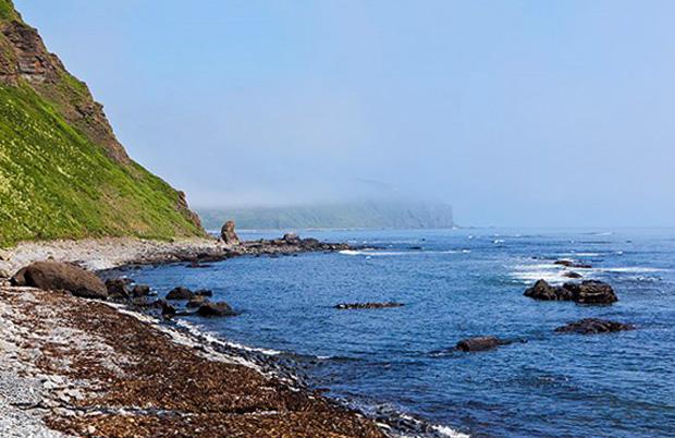 Остров Парамушир