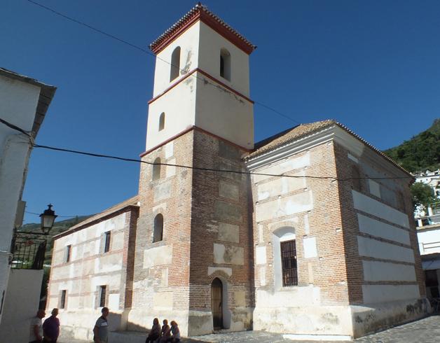 Церковь Санта Крус в Пампанейра