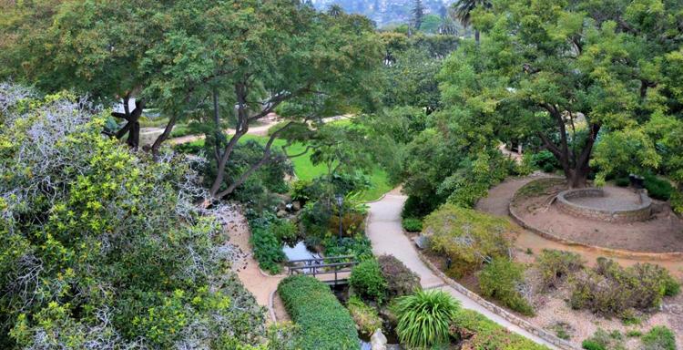 Ботанический сад Санта-Барбары