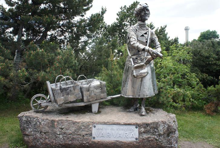 Памятник Варваре