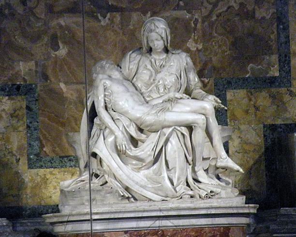Скульптурная композиция Пьета