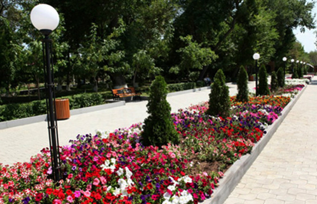 Парк имени Комитаса. Пантеон гениев армянского духа