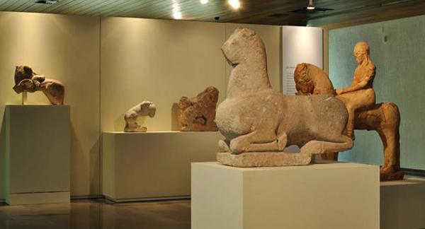 Внутри провинциального музея