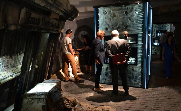 Внутри историко-археологического музея