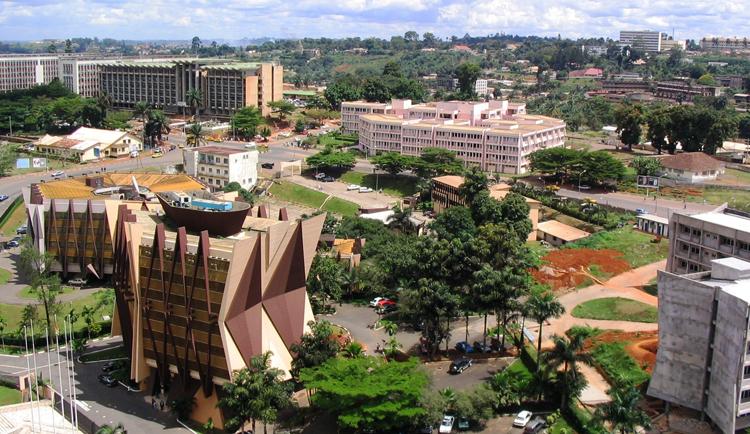 Столица Камеруна - Яунде