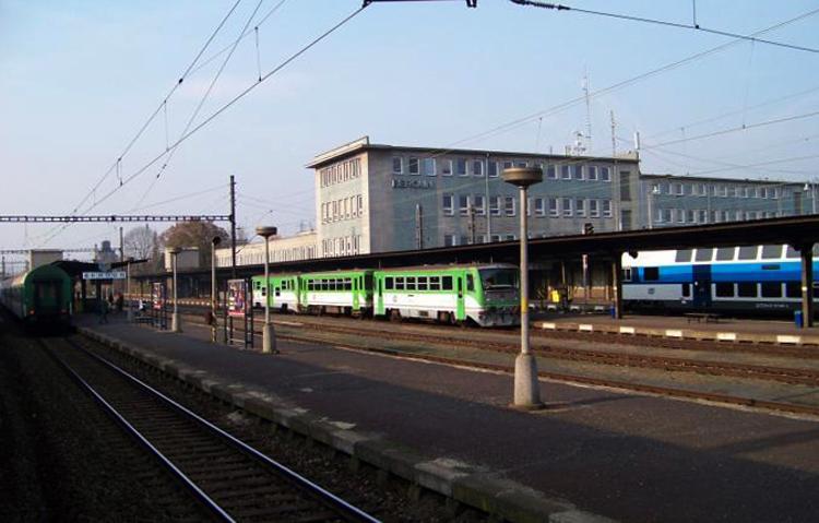 Железнодорожный вокзал Бероуна