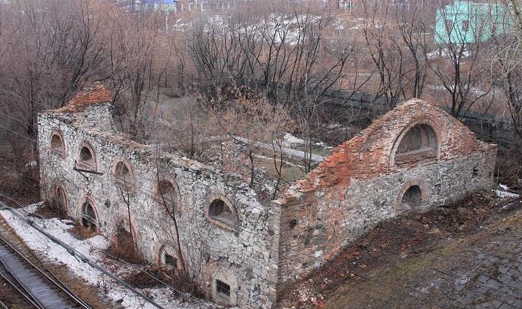 Руины молотового цеха