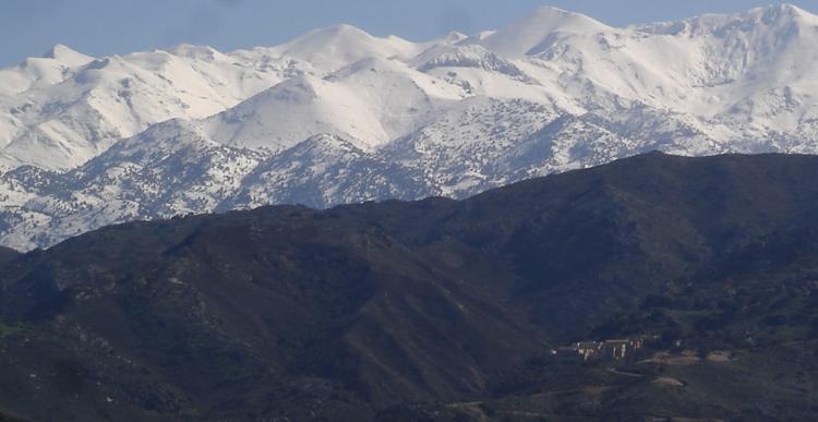 Белые горы Лефка Ори