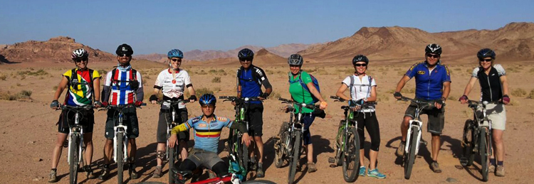 Велосипедные прогулки с командой Experience Jordan