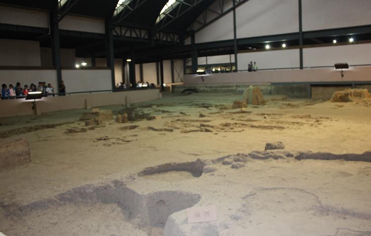Внутри музея Баньпо