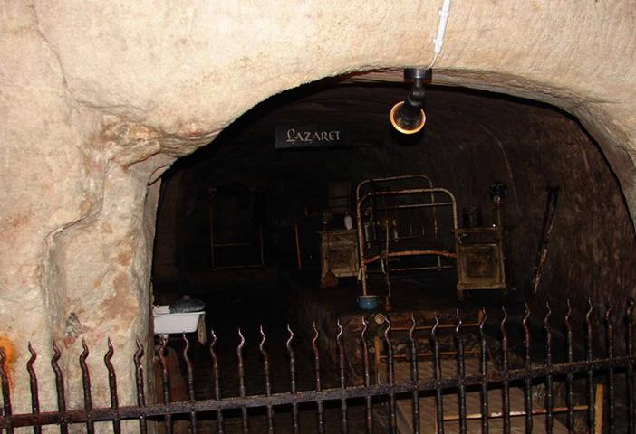 Пивоварня Байройта и катакомбы