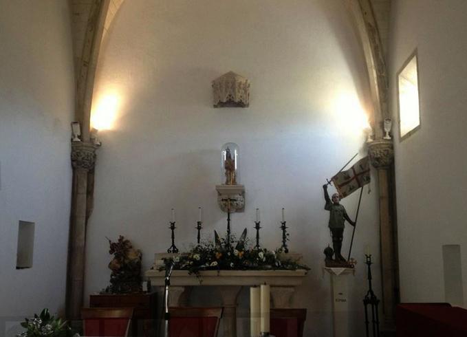 В часовне Святого Георгия
