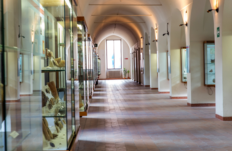 Внутри музея Ридола