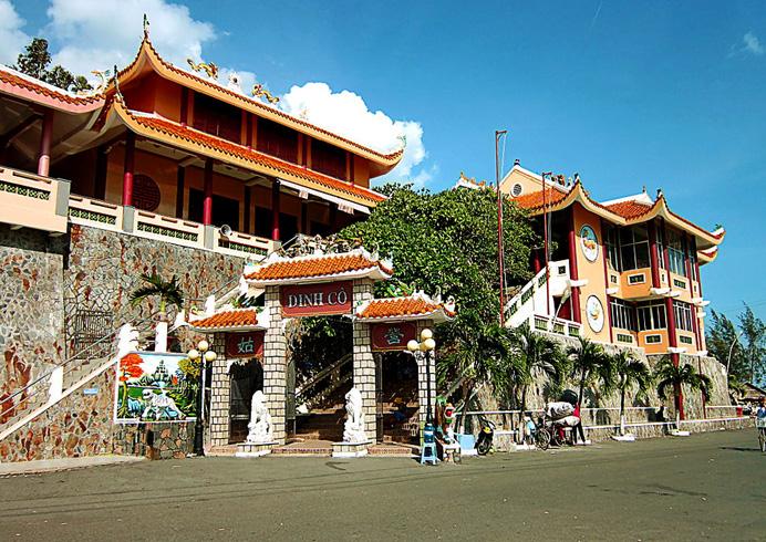 Храм Dinh Co